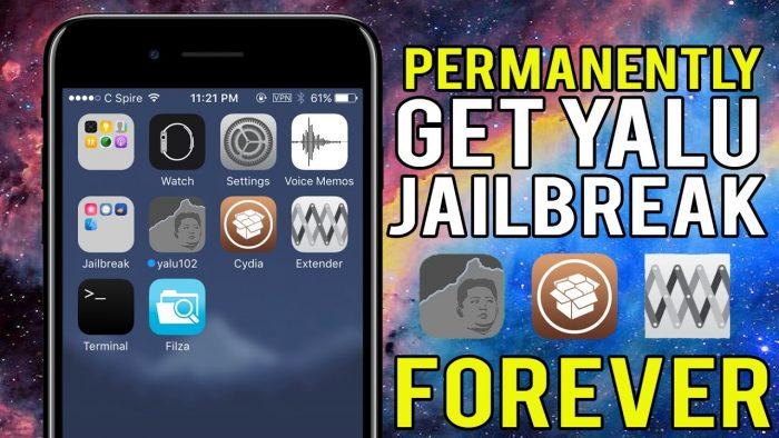 yalu jailbreak forever